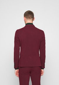 Lindbergh - DOUBLE BREASTED SUIT - SLIM FIT - Completo - bordeaux - 3