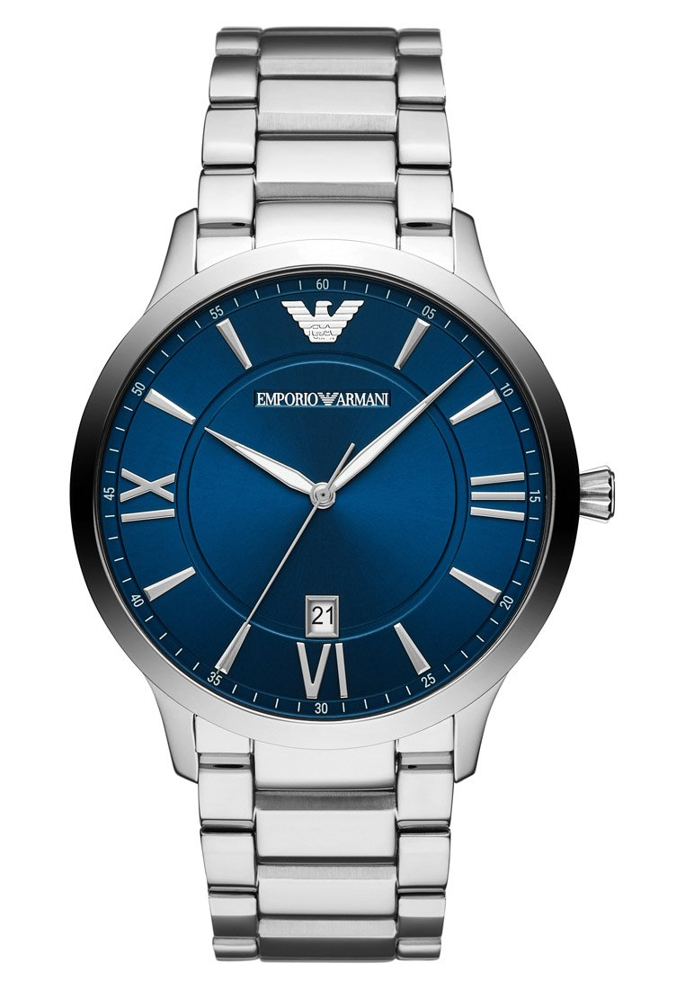 Emporio Armani - Watch - silber-coloured