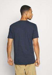 Fox Racing - SHIELD PREMIUM TEE - Print T-shirt - midnight - 2