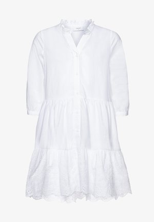 ANNA - Shirt dress - white