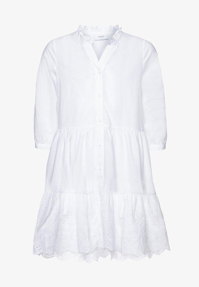 ANNA - Košilové šaty - white