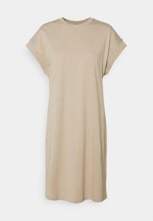 MILLY DRESS - Jersey dress - oxford tan