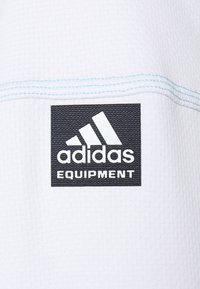 adidas Golf - EQUIPMENT 1/4 ZIP - Sweatshirt - white/sky - 2