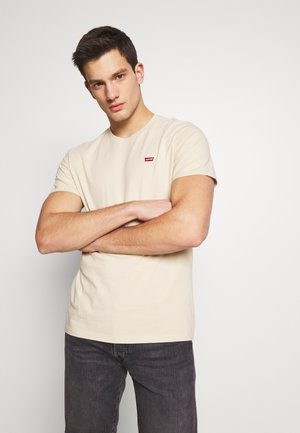 THE ORIGINAL TEE - T-shirt imprimé - beige
