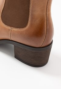 Anna Field - LEATHER - Ankle boots - cognac - 2