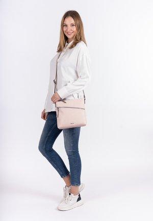 ALESSIA - Across body bag - mottled light pink