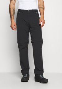 Vaude - MENS YAKI WINTER ZO PANTS - Trousers - black - 0