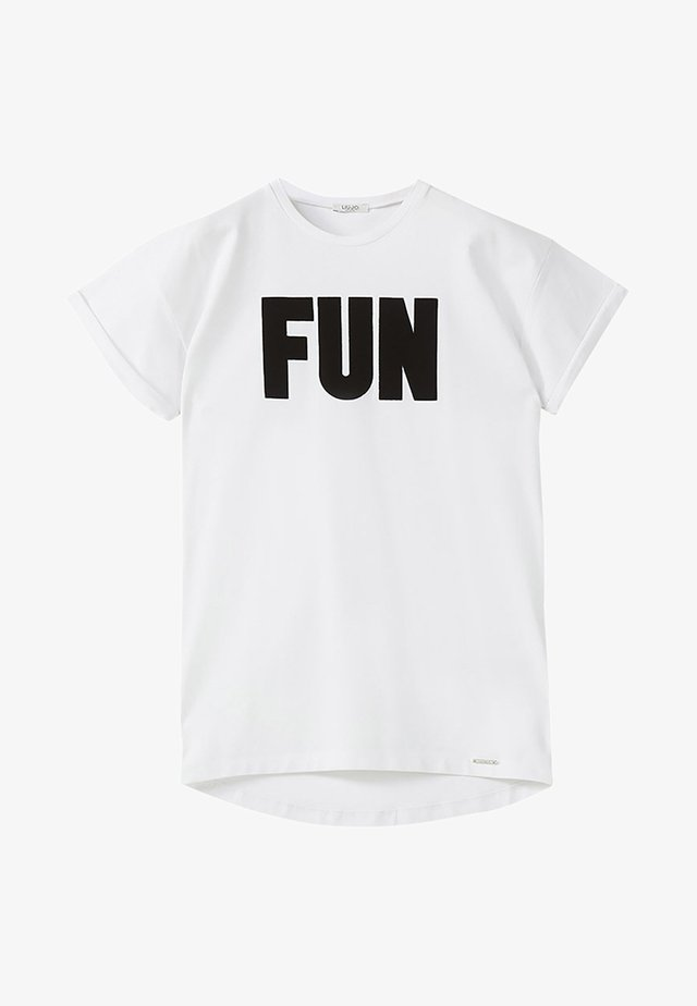 LIU JO KIDS - Print T-shirt - white
