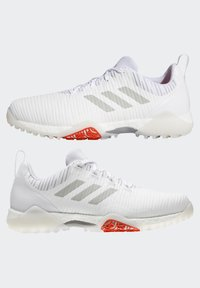 adidas Golf - CHAOS BOOST TRAXION GOLF SNEAKERS SHOES - Golf shoes - white/grey - 6