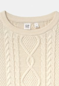 GAP - GIRL CABLE - Jumper - ivory frost - 2