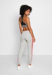 adidas Performance - PANT - Tracksuit bottoms - grey/pink - 2