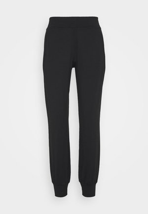 GARUDASANA YOGA TROUSERS - Tracksuit bottoms - black