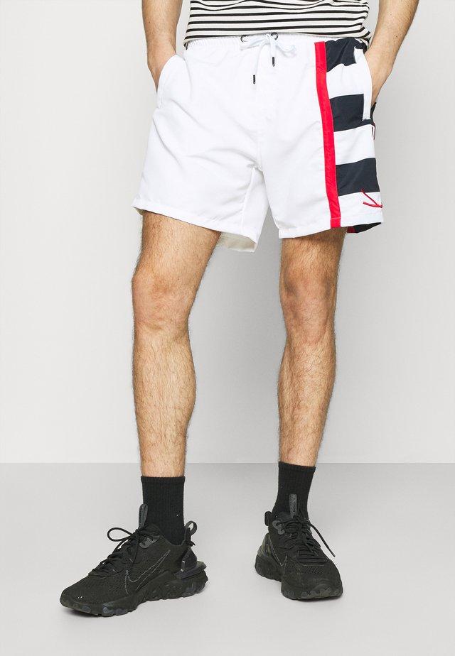 SIGNATURE BLOCK - Shorts - white