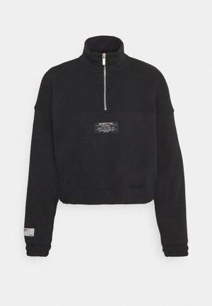 ONLKIRA LIFE HALF ZIP  - Sweatshirt - black