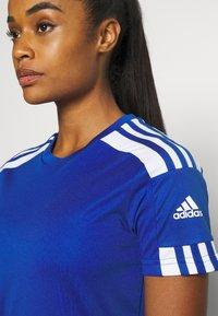 adidas Performance - SQUADRA 21 - T-shirts med print - royal blue/white - 3
