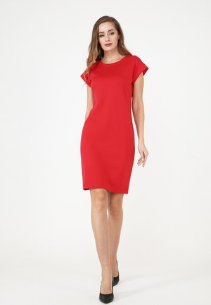 FROMA - Shift dress - koralle