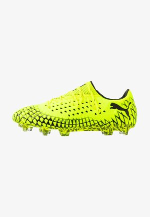 FUTURE 4.1 NETFIT LOW FG/AG - Moulded stud football boots - yellow alert/black