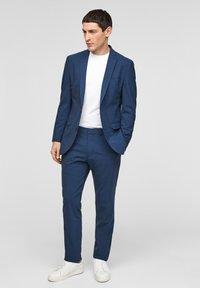 s.Oliver BLACK LABEL - SLIM FIT - Giacca elegante - blue - 1
