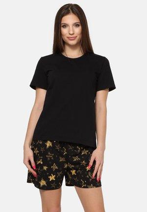 SET - Pyjama set - black/yellow/stars