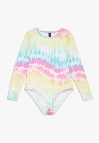 South Beach - GIRLS PRINTED BALLET LEOTARD - Body deportivo - rainbow/light blue - 0