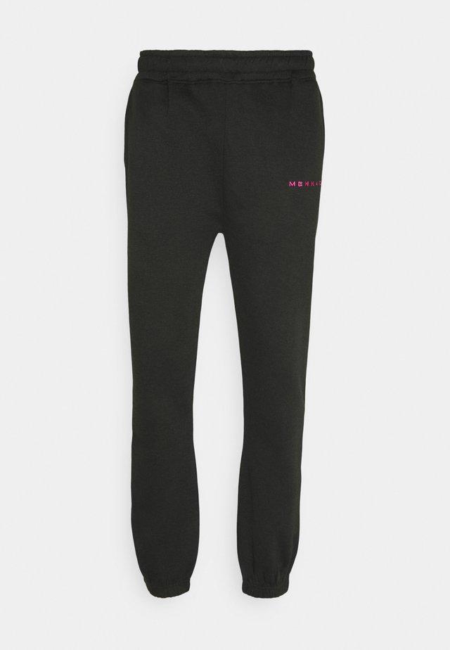 ESSENTIAL UNISEX - Teplákové kalhoty - black