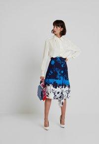 Ted Baker - A-line skirt - dark blue - 1