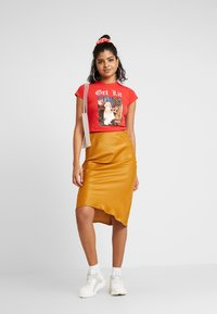 NEW girl ORDER - GET LIT - T-shirt med print - red - 1