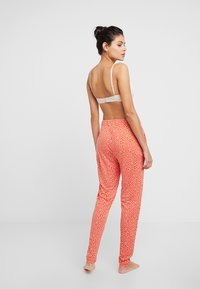 s.Oliver - Pyjama bottoms - orange/creme - 2