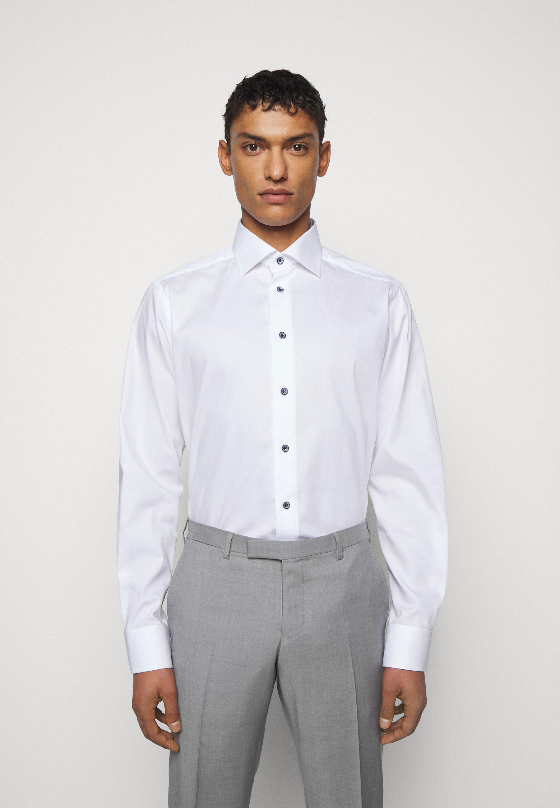 Men CONTEMPORARY FINE STRIPES WEAVE  - Formal shirt - white