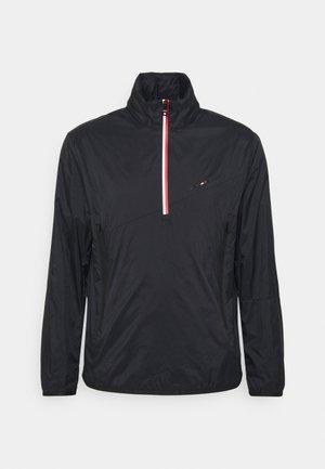 1/2 ZIP ANORAK - Training jacket - black