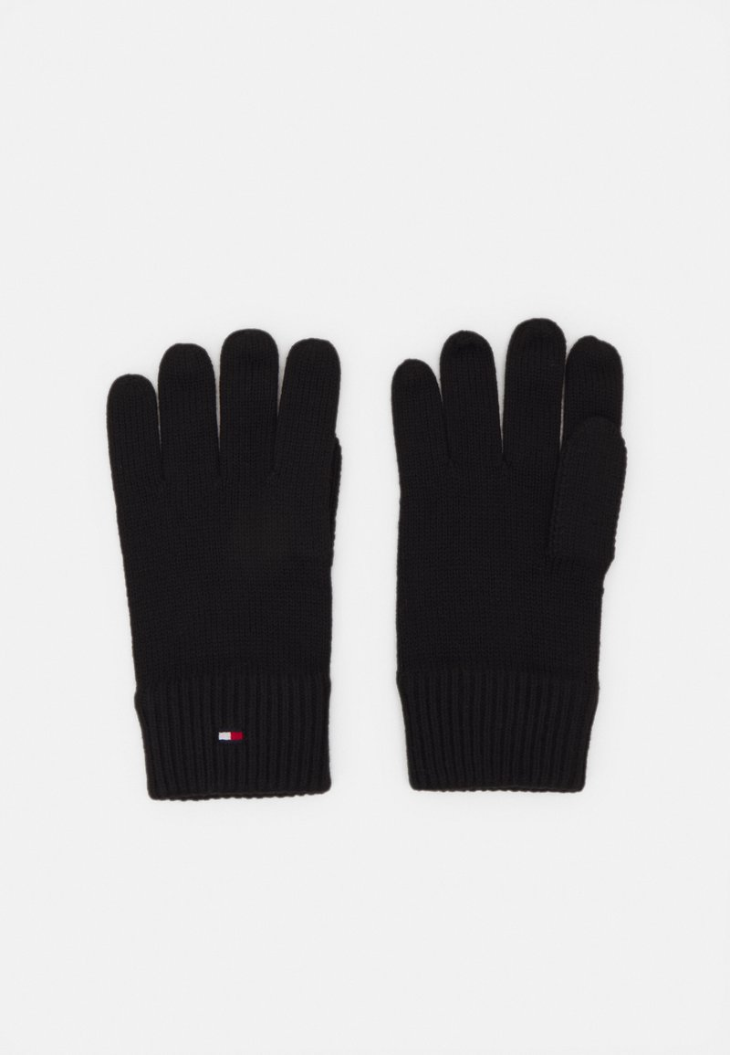 Tommy Hilfiger - GLOVES - Gloves - black