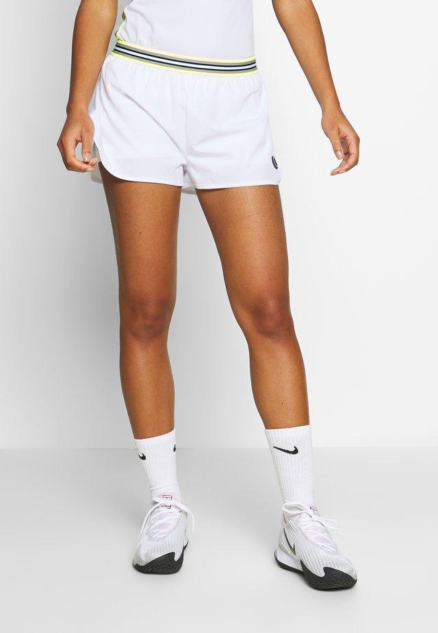 TINE SHORTS - Urheilushortsit - brilliant white