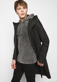 DRYKORN - MILIAN - Long sleeved top - dark grey - 4