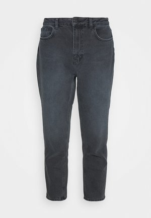 HIGH RISE MOM JEANS - Jeans relaxed fit - dark grey