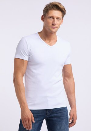 AARON - Basic T-shirt - white