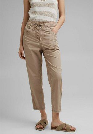 FASHION - Pantalon classique - beige