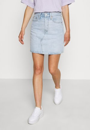 DECON ICONIC SKIRT - Spódnica trapezowa - check ya later