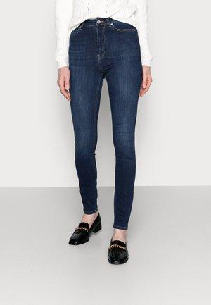HIGH WAIST  - Jeans Skinny Fit - dark blue
