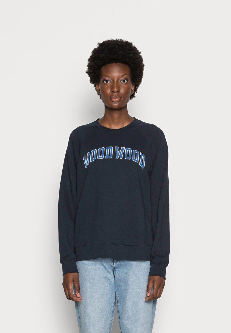 Wood Wood - HOPE IVY  - Sweatshirt - navy