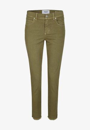 ORNELLA GLAMOUR - Slim fit jeans - khaki