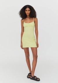 PULL&BEAR - Day dress - light green - 1