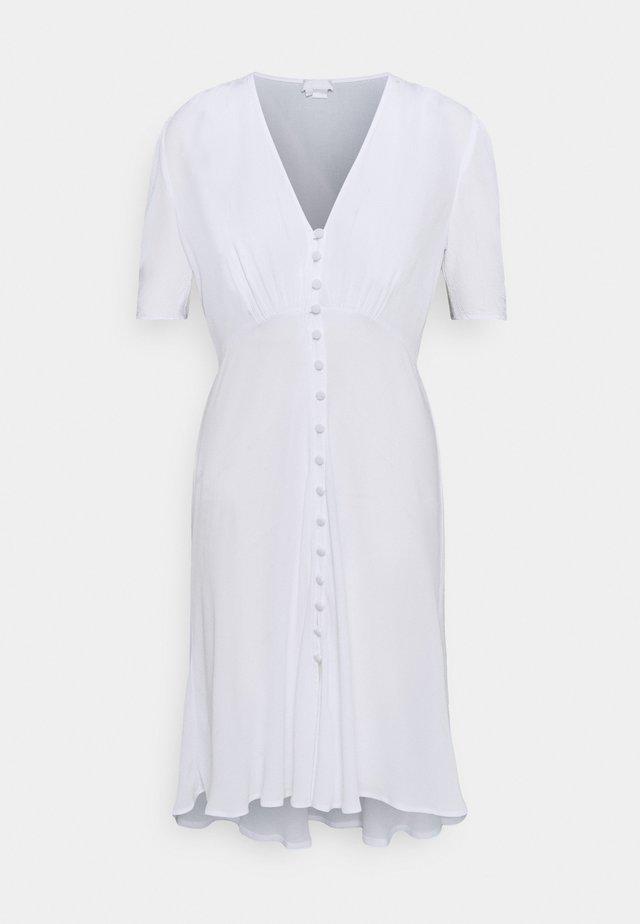 SABRINA DRESS - Korte jurk - white