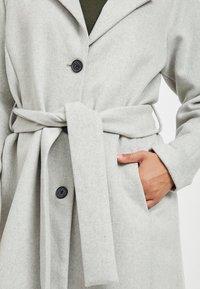 Object - Zimní kabát - light grey melange - 4