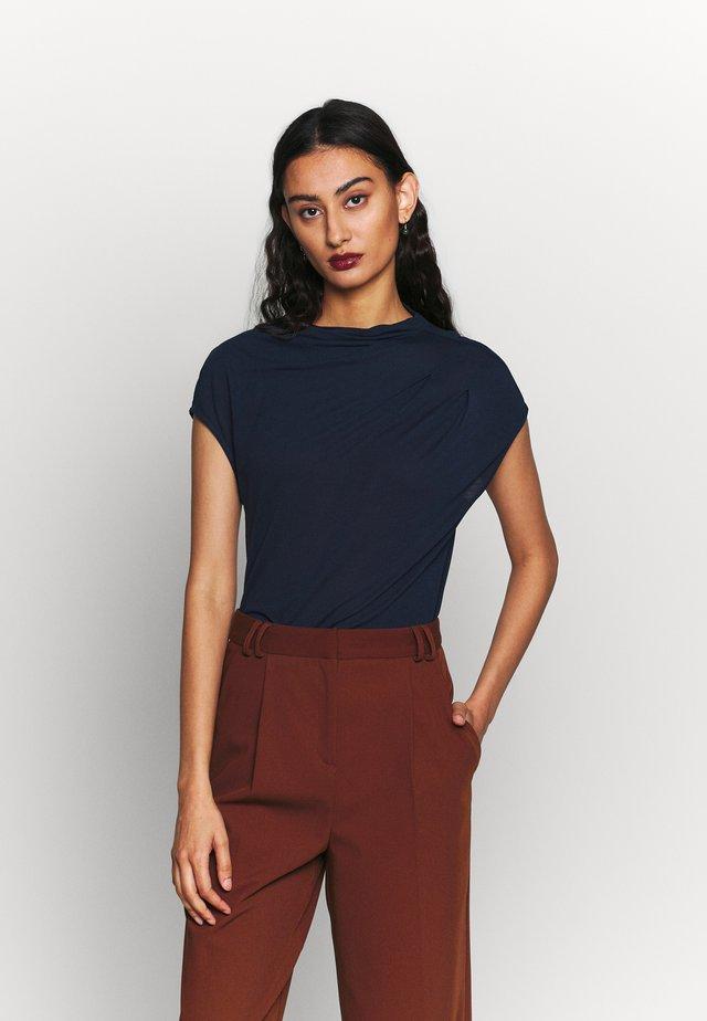 POPEEY - Basic T-shirt - blue
