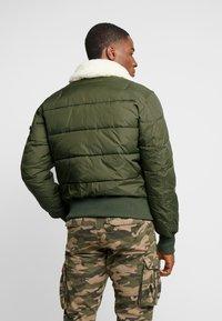 Alpha Industries - INJECTOR III PUFFER - Light jacket - dark green - 2
