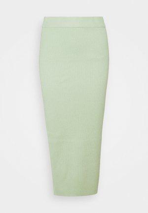 Pouzdrová sukně - green