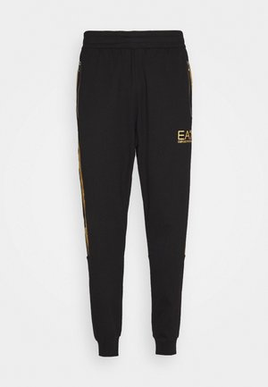 Tracksuit bottoms - black/gold