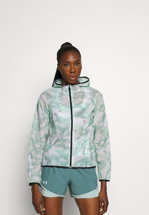 RUN ANYWHERE STORM  - Sports jacket - seaglass blue
