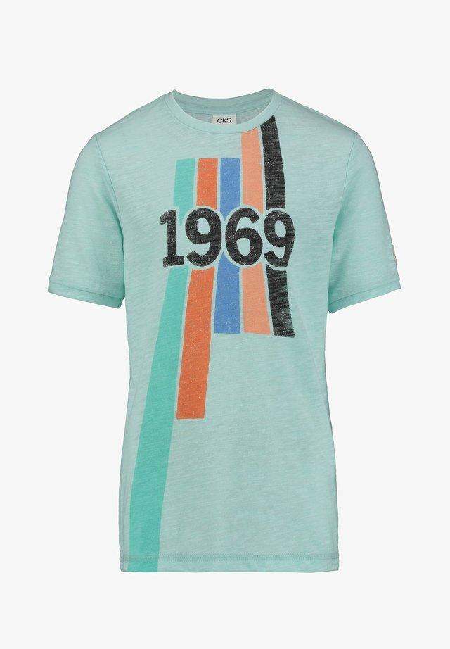 YVES - Print T-shirt - mint