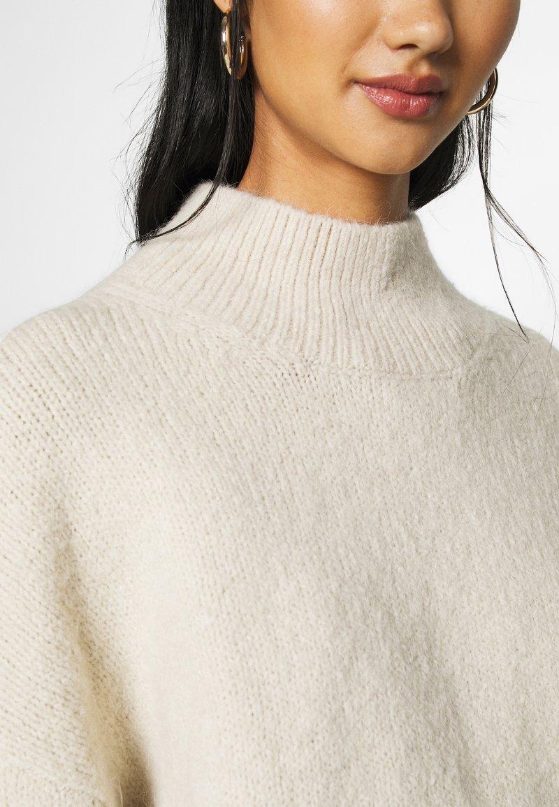 Weekday AINO - Strickpullover - light beige melange/beige 3Gwfit